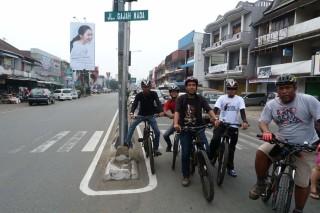 Bersepeda di Kota Pontianak