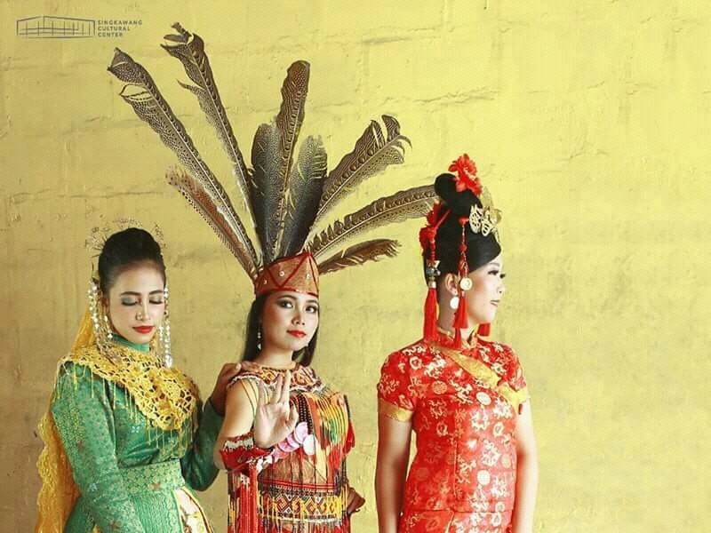 Harmoni Etnis Melayu Dayak Tionghoa di Singkawang