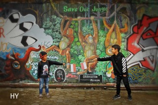 Campaign Save Our Jungle 2. Photo by Herfin Yulianto