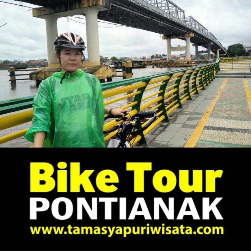 Bike Tour Pontianak www.tamasyapuriwisata.com