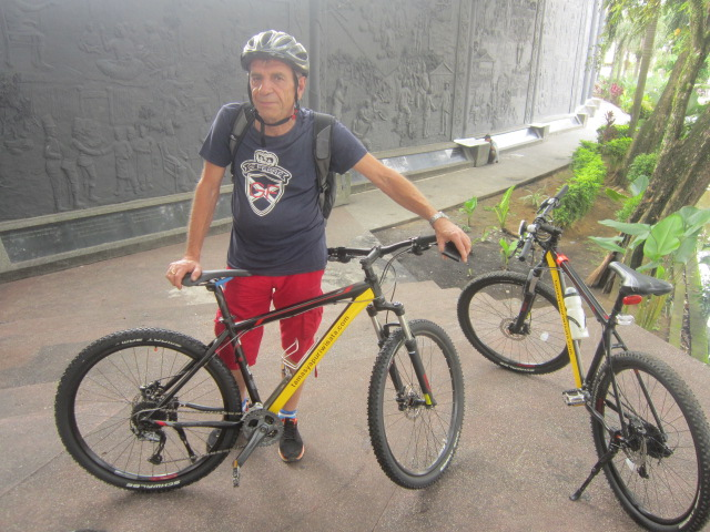 Bike Tour Pontianak by Tamasya Puri Wisata - Vili Hajdic from Slovenia Europe