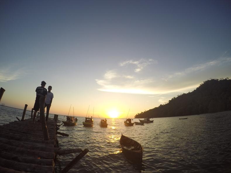 Sunset Lemukutan Island