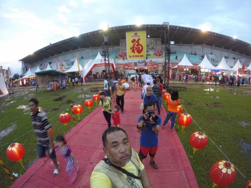 Cap Go Meh in Kridasana Stadium Singkawang