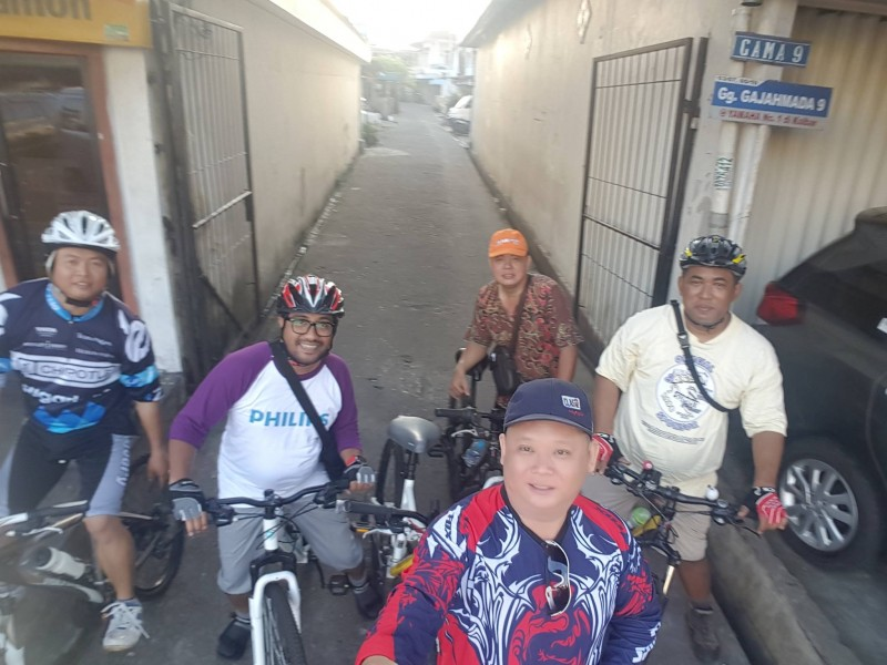 Gajahmada 9 as meeting point of Sunday Bike