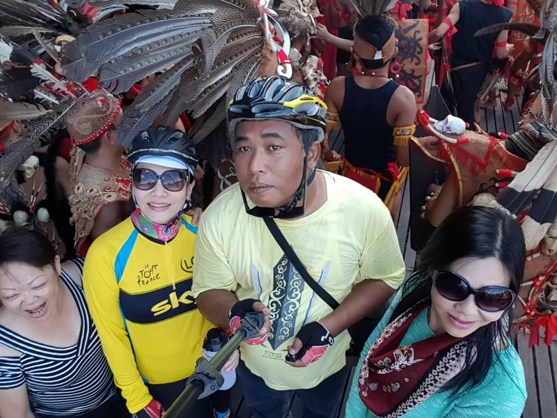 Bike Tour Pontianak Gawai Dayak Week Dayak Cultural Festival (3)