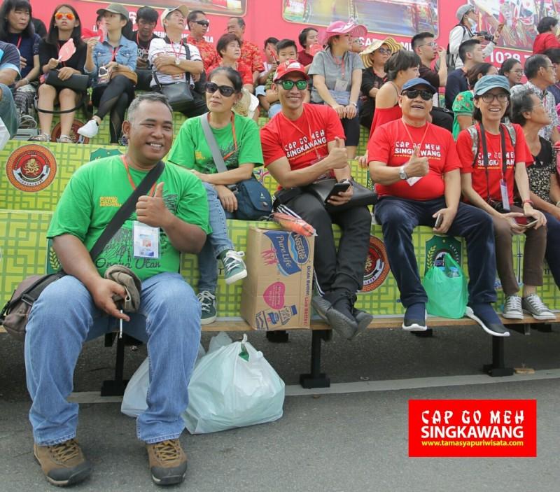 Tour Participants Cap Go Meh Singkawang