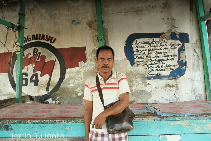 Portrait 1 di Pasar Tengah Pontianak