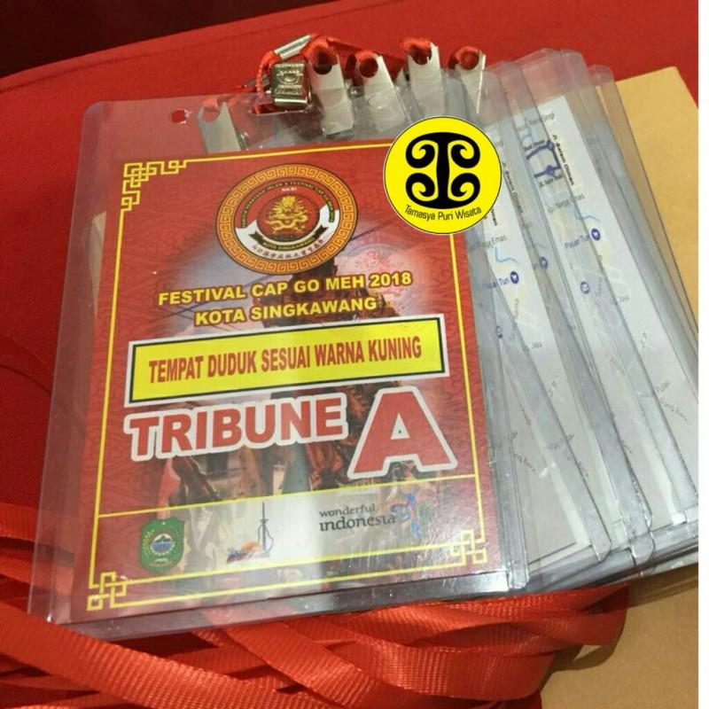Tiket Tribun Festival Cap Go Meh Singkawang