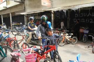 Beli Sepeda Bekas 2 di Pasar Tengah Pontianak _hy