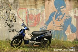 Bruce Lee Wall di Taman Budaya Pontianak _hy