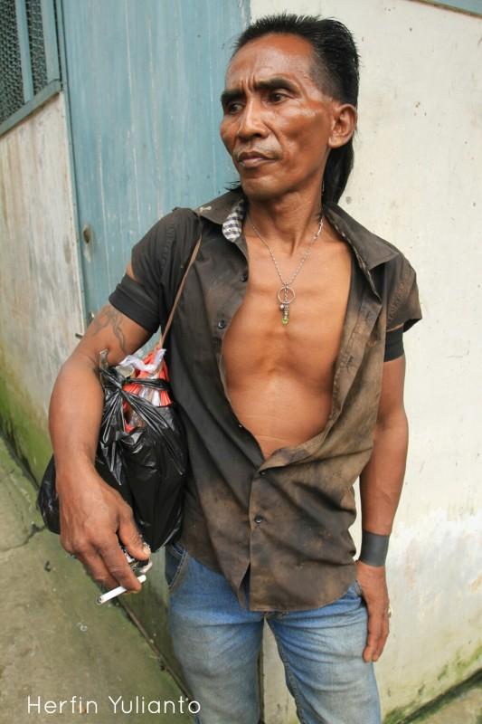 Portrait 2 di Pasar Tengah Pontianak _hy