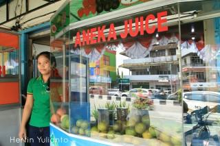 Aneka Juice di Jalan Gajahmada Pontianak _hy