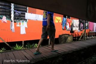 Berjalan Di Gang Asean Jalan Tanjungpura Pontianak _hy
