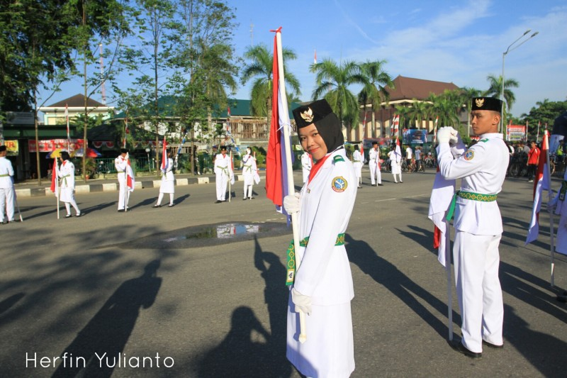 Paskibraka Indonesia Taman Alun Kapuas _hy