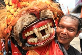 Javanese Mask Anniversary of Pontianak _hy