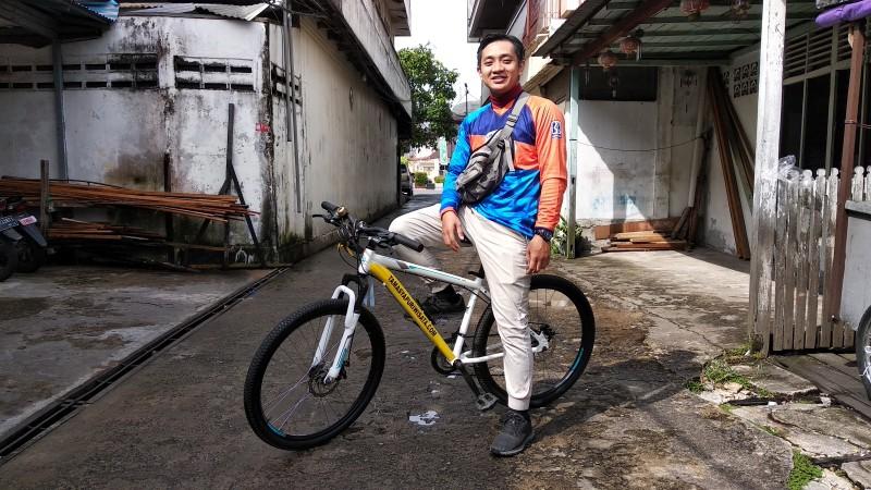 TESTIMONI Customer SEWA SEPEDA Pontianak City Bike Tour & Rental MAHADI SUMPRI Warga Pontianak.