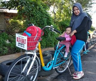 Tq Duta Baut Jakarta as BICYCLE SPONSOR / SPONSOR SEPEDA di Pontianak City Bike Tour & Rental.