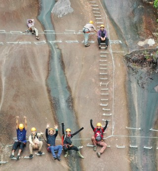 Rock Climbing Package Via Ferrata Gunung Kelam