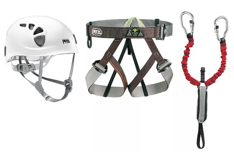 Rock Climbing Equipment Via Ferrata Gunung Kelam