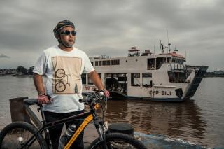 Pontianak Cycling Tour @ Kapal Feri Sungai Kapuas
