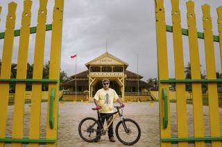 Pontianak Cycling Tour @ Istana Kadriah
