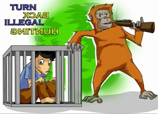 Turn Back Illegal Hunting by Reza Pahlevi
