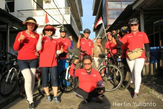Pontianak Cycling Tour @ Kalimantan Barat Tourist Meeting Point