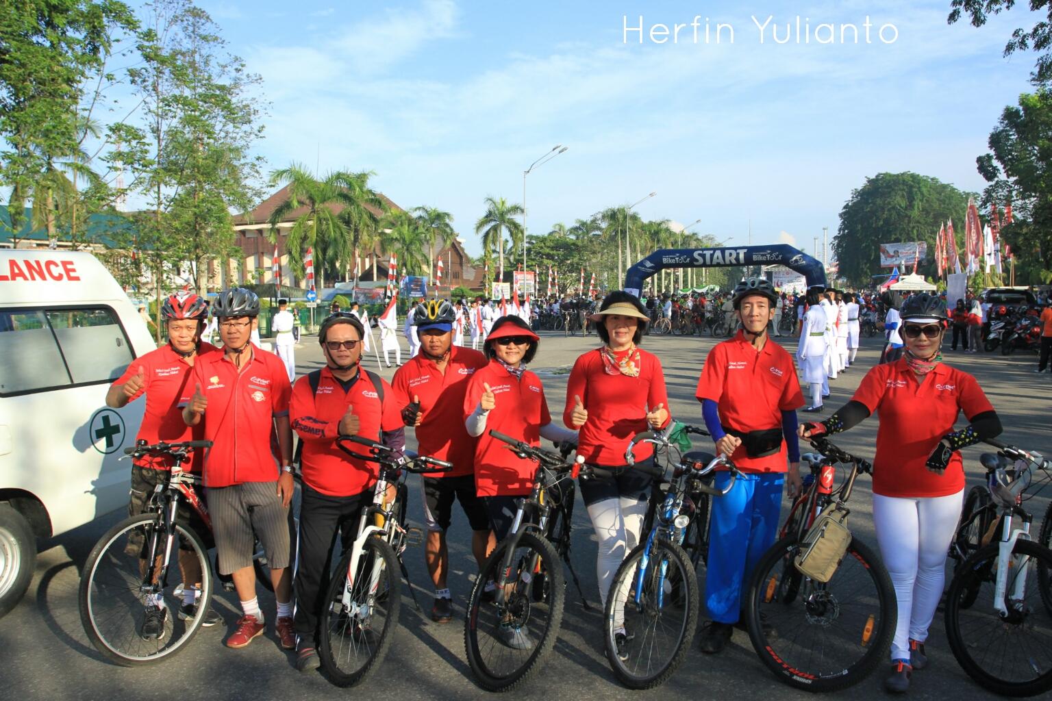 Pontianak Cycling Tour @ Alun-Alun Pontianak