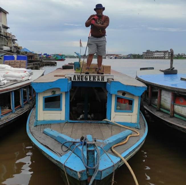 Paket Wisata City Trekking Pontianak Rute Transportasi Sungai Kapuas