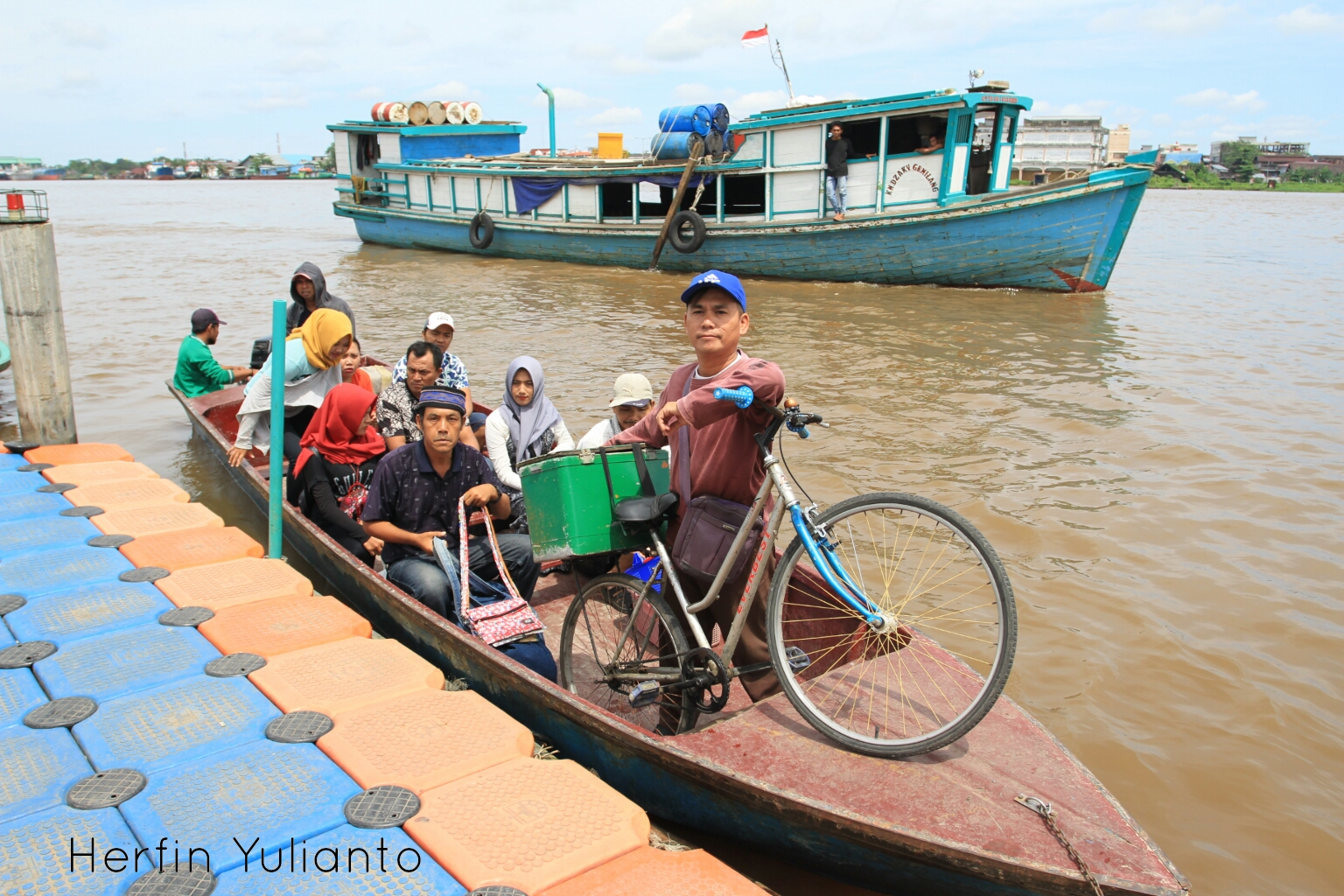 Pontianak Cycling Tour @ Waterfront Sungai Kapuas