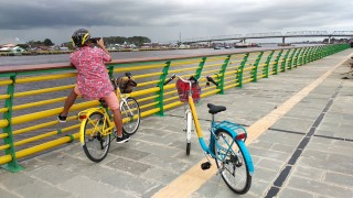 Waterfront Pontianak - Bicycle Tour & Rental Pontianak