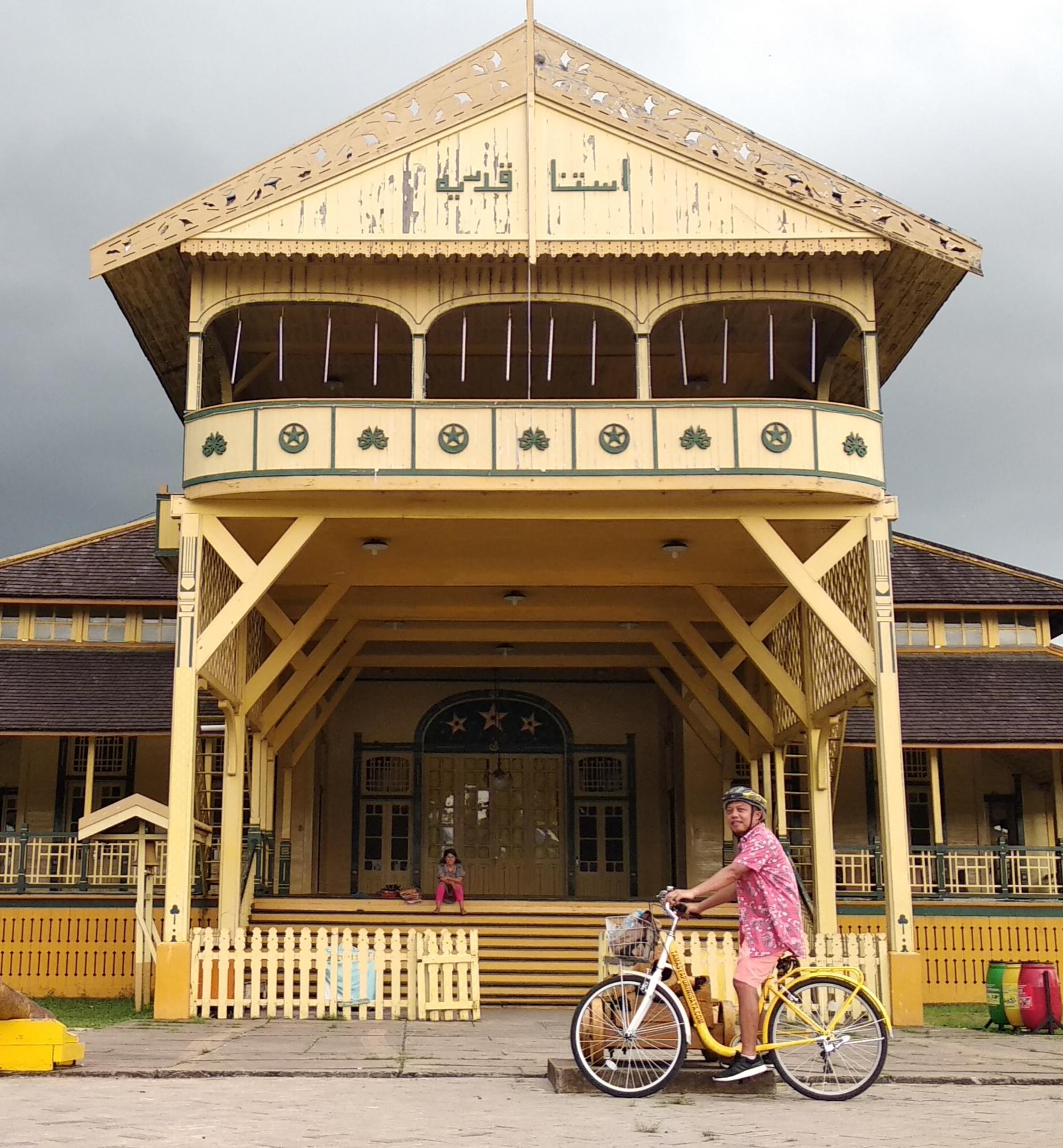 Istana Kadriah - Bicycle Tour & Rental Pontianak