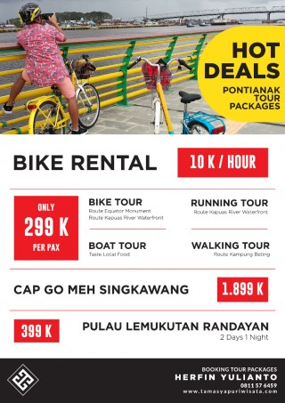 Hot Deals Pontianak Tour Packages www.tamasyapuriwisata.com