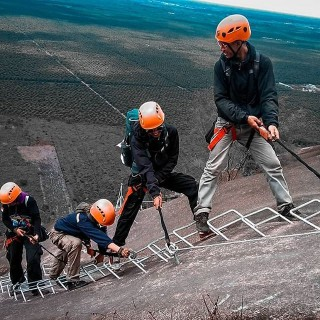 Rock Climbing Tour Package Via Ferrata Sintang Mountain