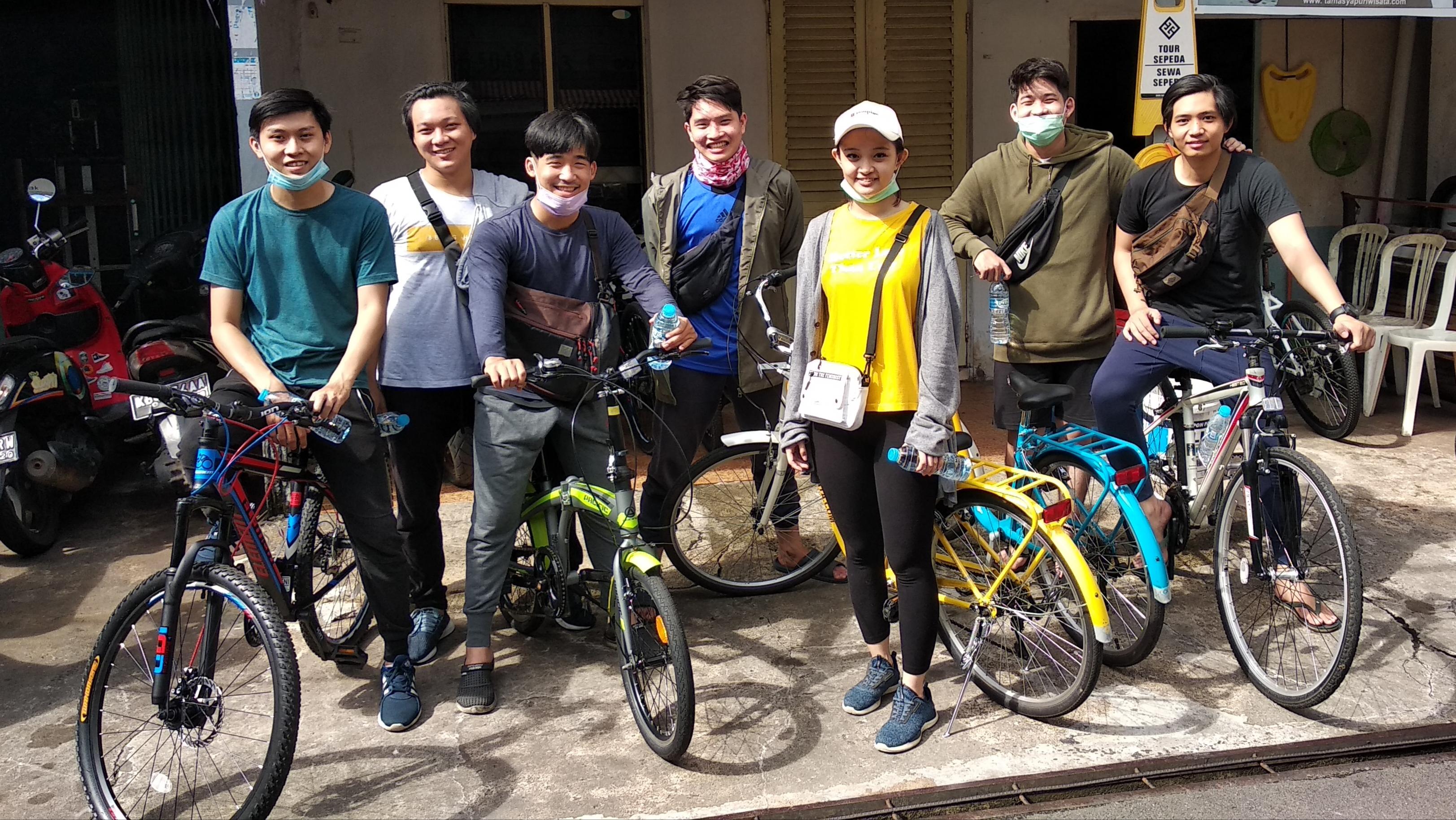 at Tourist Meeting Point Pontianak - Bicycle Tour & Rental Pontianak