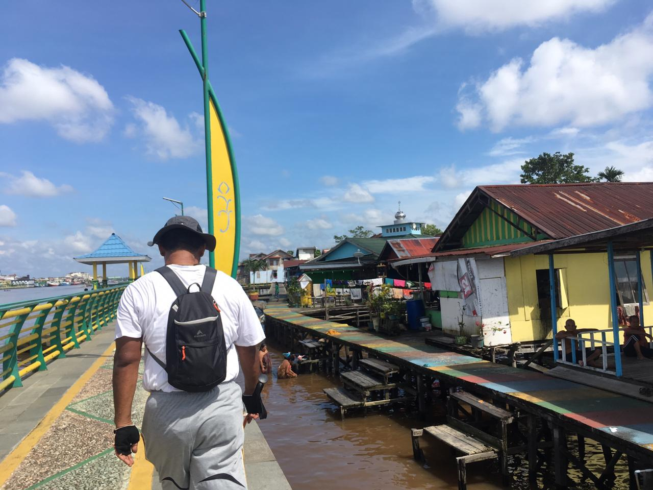 Paket Wisata Jalan Kaki Pontianak Rute Perkampungan Sungai Kapuas