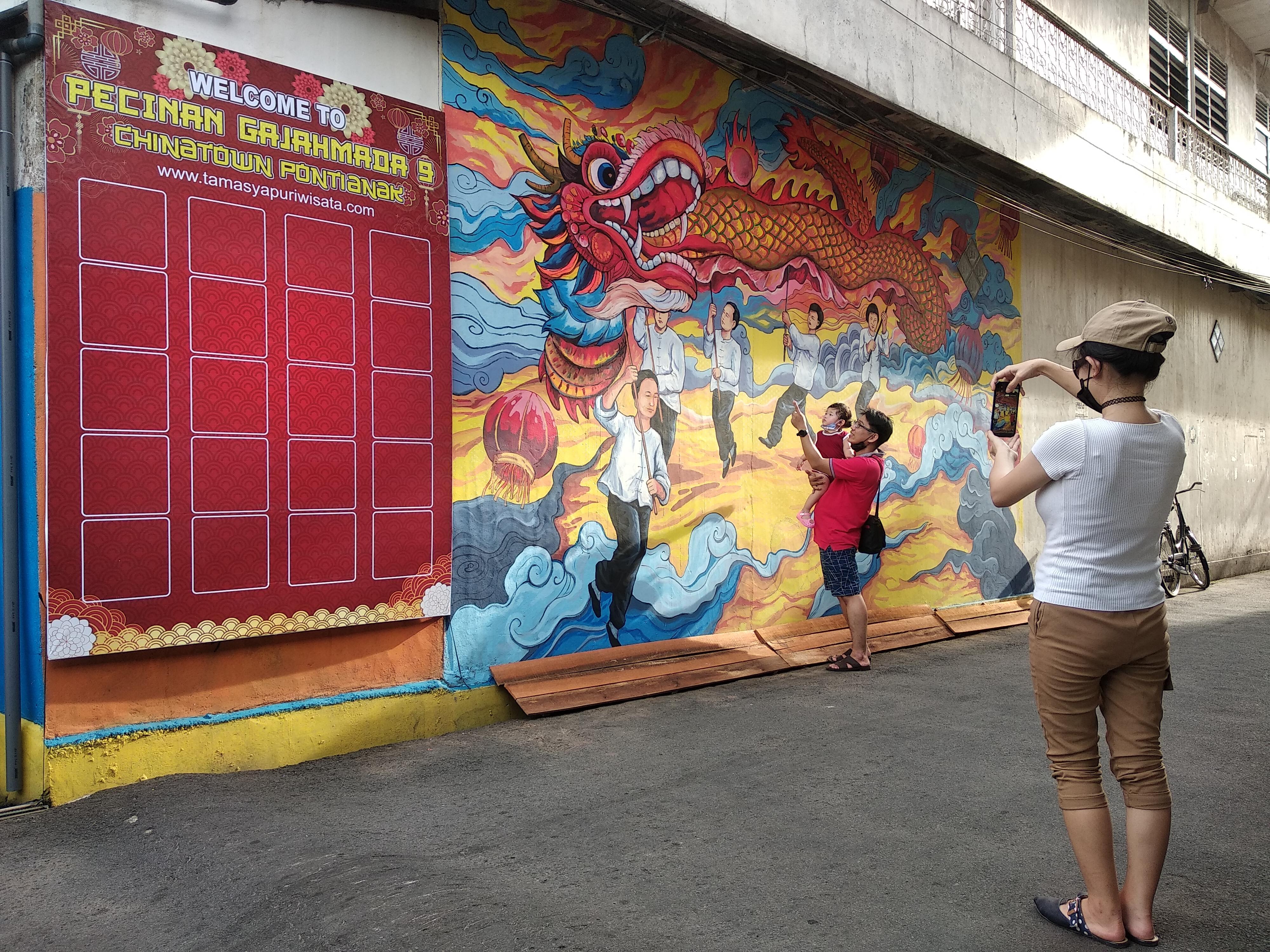 Pecinan Gajahmada 9 - Chinatown Pontianak